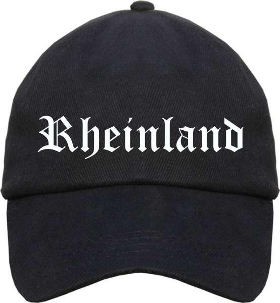 Rheinland Cappy - Altdeutsch bedruckt - Schirmmütze Cap