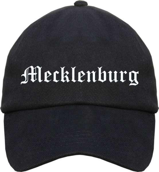 Mecklenburg Cappy - Altdeutsch bedruckt - Schirmmütze Cap