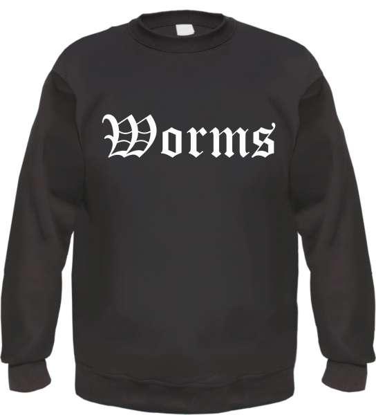 Worms Sweatshirt - Altdeutsch - bedruckt - Pullover