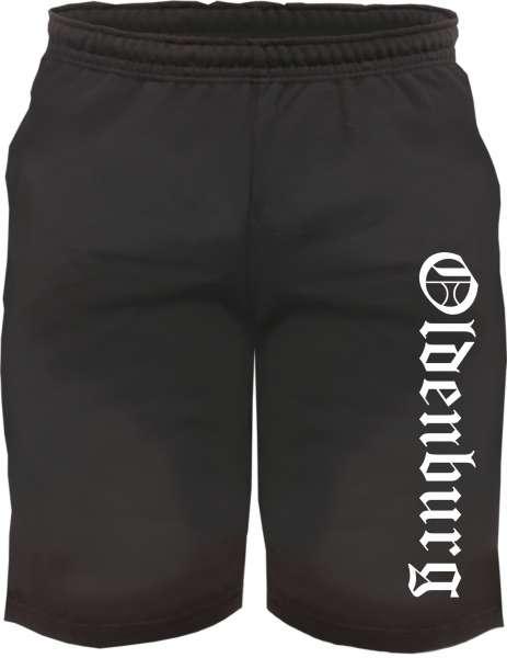 Oldenburg Sweatshorts - Altdeutsch bedruckt - Kurze Hose Shorts