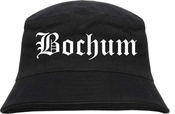 Bochum Fischerhut - Altdeutsch - bedruckt - Bucket Hat Anglerhut Hut