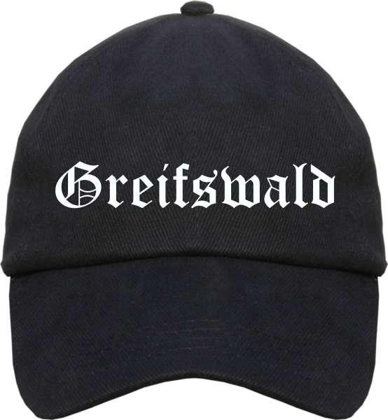Greifswald Cappy - Altdeutsch bedruckt - Schirmmütze Cap