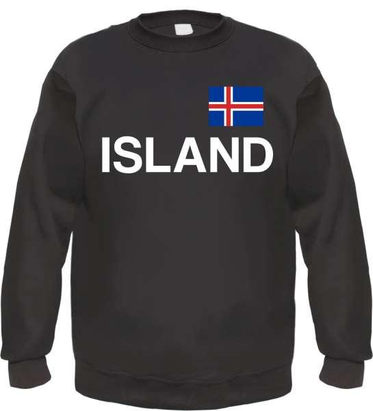 Island Sweatshirt - bedruckt - Pullover