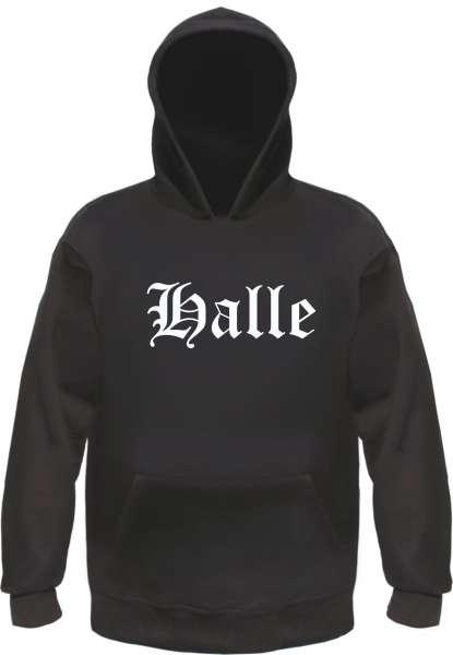 Halle Kapuzensweatshirt - Altdeutsch - bedruckt - Hoodie Kapuzenpullover