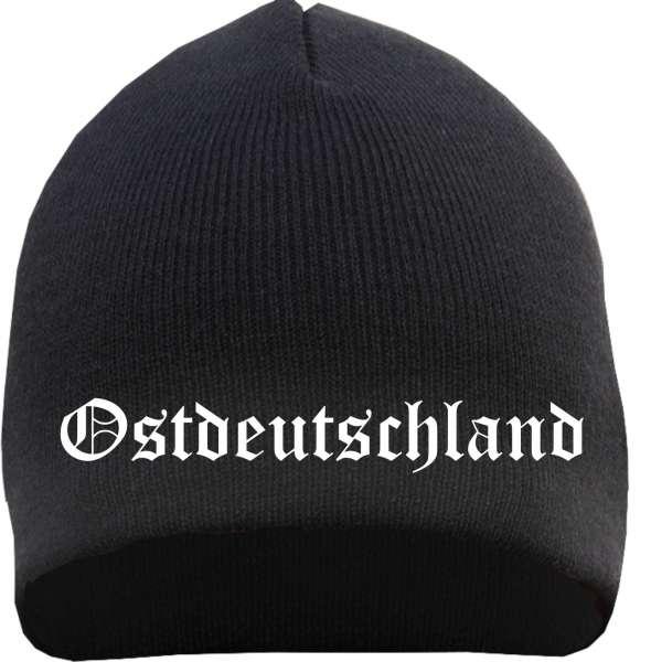 Ostdeutschland Beanie - bestickt - Mütze