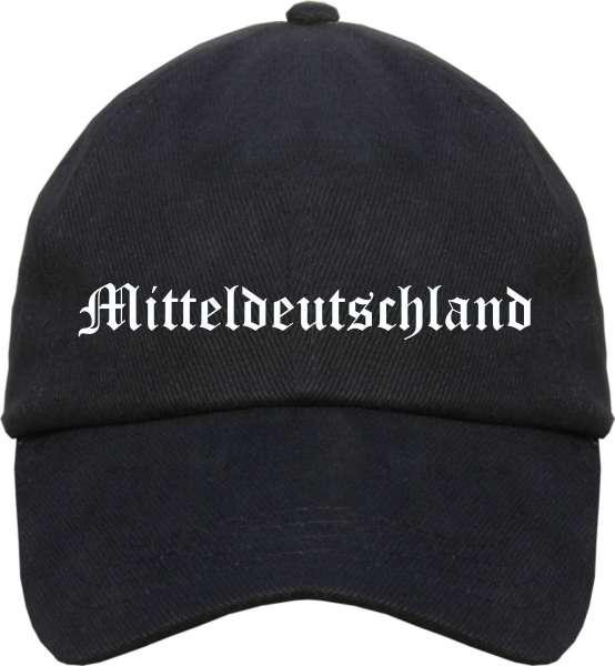Mitteldeutschland Cappy - Altdeutsch bedruckt - Schirmmütze Cap