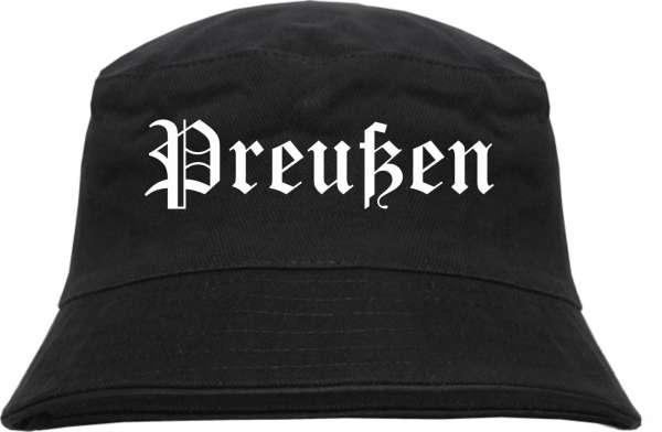 Preußen Fischerhut - Altdeutsch - bedruckt - Bucket Hat Anglerhut Hut