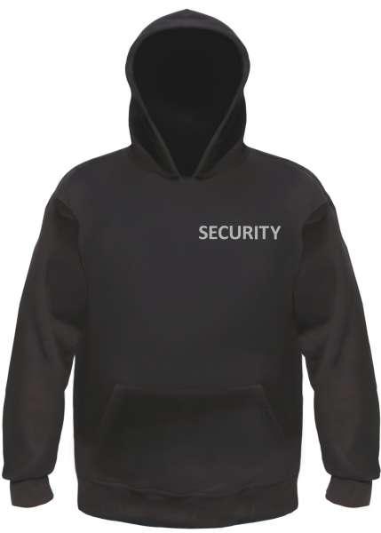 Security Kapuzensweatshirt - Hoodie Druck: Reflektierend