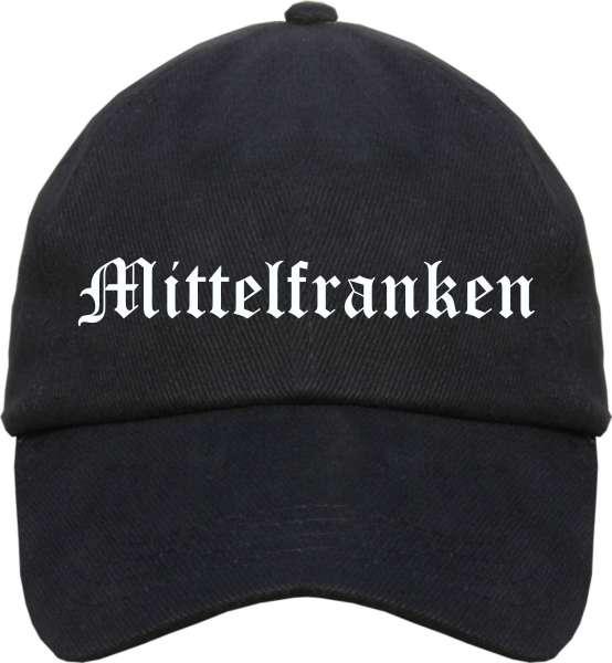 Mittelfranken Cappy - Altdeutsch bedruckt - Schirmmütze Cap