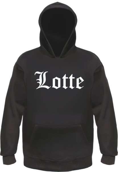 Lotte Kapuzensweatshirt - Altdeutsch - bedruckt - Hoodie Kapuzenpullover