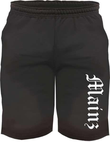 Mainz Sweatshorts - Altdeutsch bedruckt - Kurze Hose Shorts
