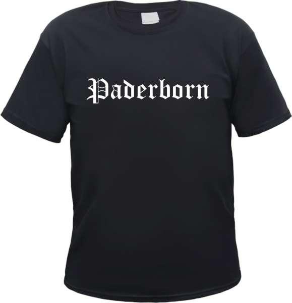 Paderborn Herren T-Shirt - Altdeutsch - Tee Shirt