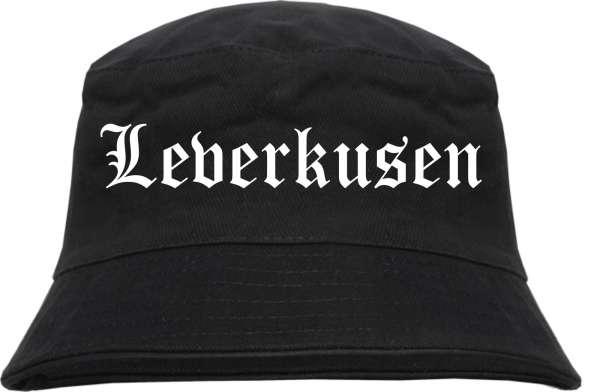 Leverkusen Fischerhut - Altdeutsch - bedruckt - Bucket Hat Anglerhut Hut