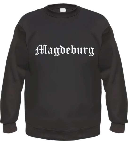 Magdeburg Sweatshirt - Altdeutsch - bedruckt - Pullover