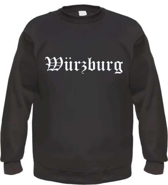 Würzburg Sweatshirt - Altdeutsch - bedruckt - Pullover