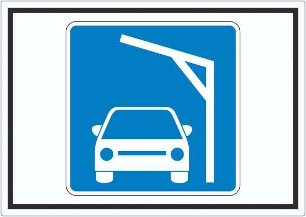Liegestelle zum Laden von PKWs Autos aufladen Symbol Aufkleber