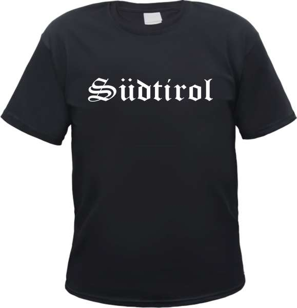 Südtirol Herren T-Shirt - Altdeutsch - Tee Shirt