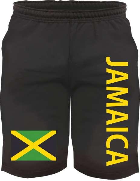 Jamaica Sweatshorts - bedruckt - Kurze Hose Shorts Flagge Jamaika