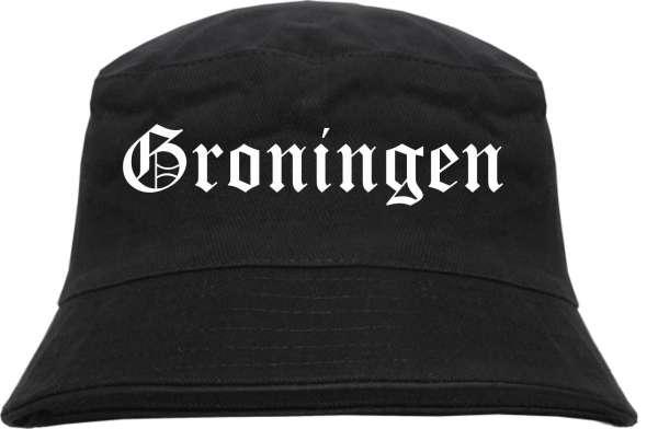 Groningen Fischerhut - Altdeutsch - bedruckt - Bucket Hat Anglerhut Hut
