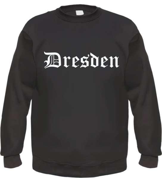 Dresden Sweatshirt - Altdeutsch - bedruckt - Pullover