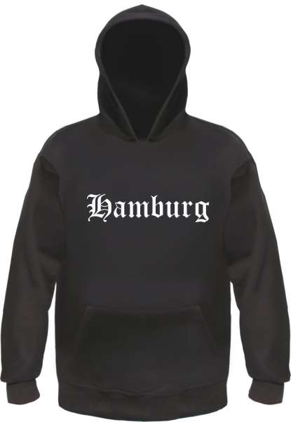 HAMBURG Hoodie Kapuzensweatshirt