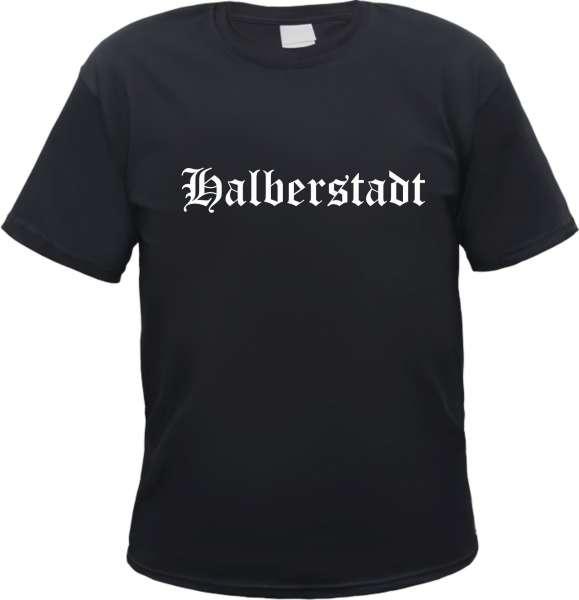 Halberstadt Herren T-Shirt - Altdeutsch - Tee Shirt