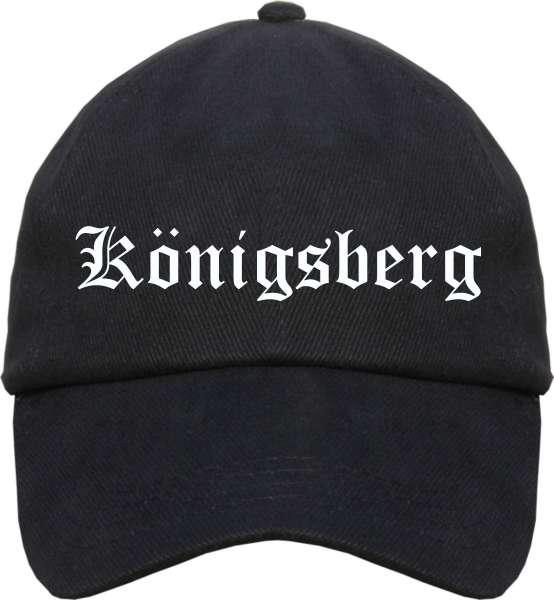 Königsberg Cappy - Altdeutsch bedruckt - Schirmmütze Cap