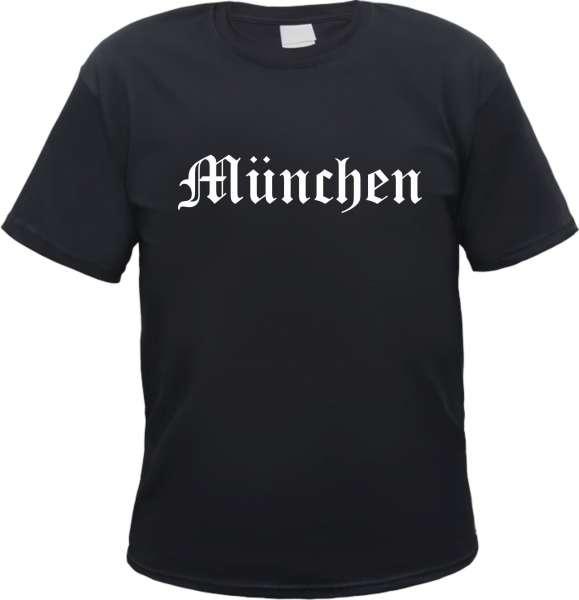 München Herren T-Shirt - Altdeutsch - Tee Shirt