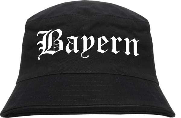 Bayern Fischerhut mit Wappen - Bucket Hat