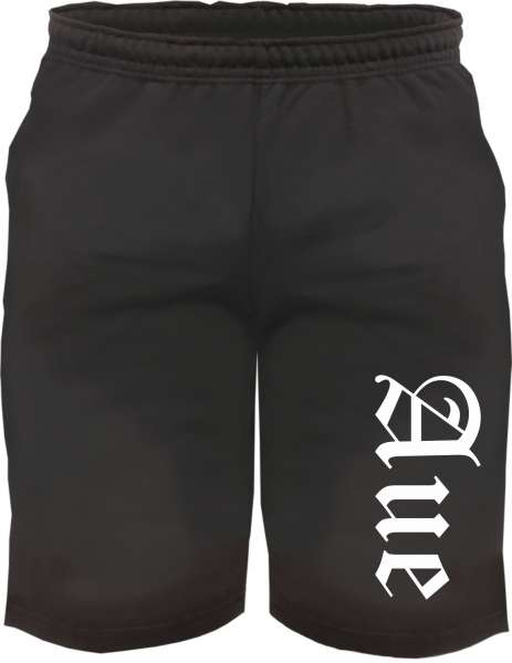 Aue Sweatshorts - Altdeutsch bedruckt - Kurze Hose Shorts