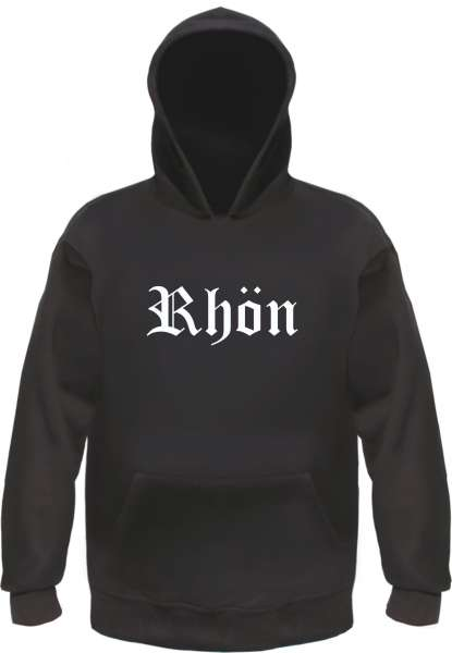 Rhön Kapuzensweatshirt - Altdeutsch - bedruckt - Hoodie Kapuzenpullover