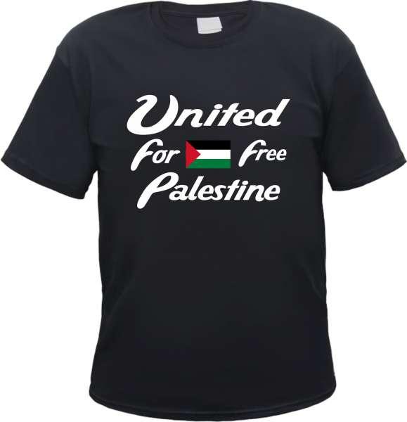 United Free Palestine Herren T-Shirt - Tee Shirt