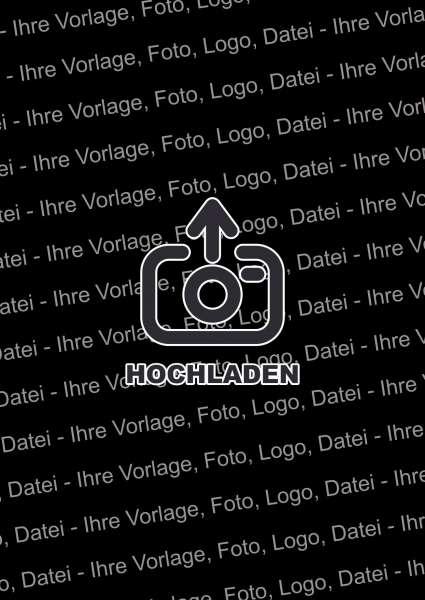 Eigene Vorlage Foto Logo Datei Schild hochkannt