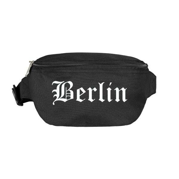Berlin Bauchtasche - Altdeutsch bedruckt - Gürteltasche Hipbag