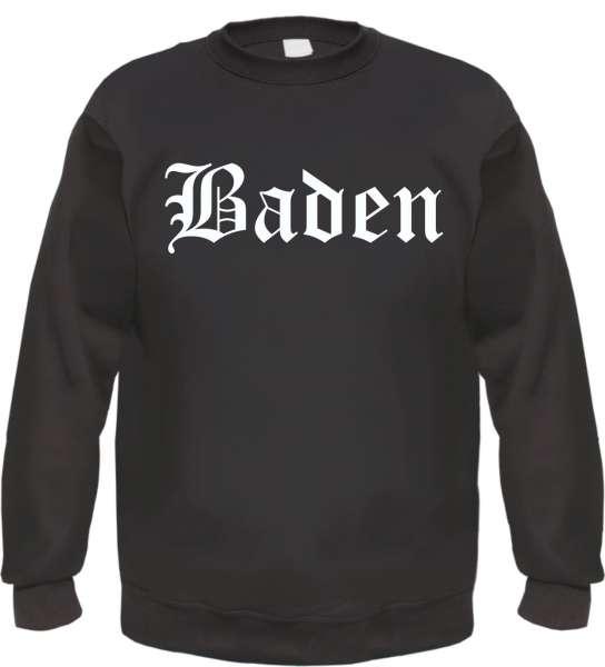 Baden Sweatshirt - Altdeutsch - bedruckt - Pullover