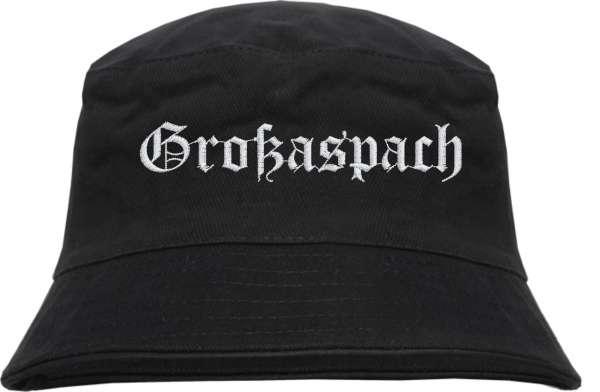 Großaspach Fischerhut - Altdeutsch - bestickt - Bucket Hat Anglerhut Hut