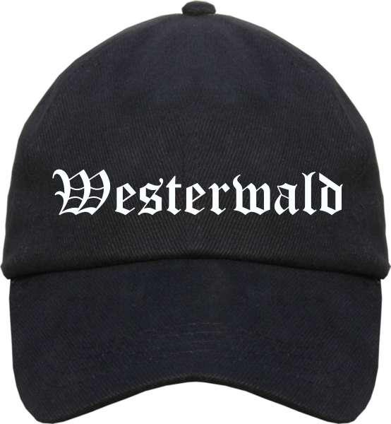 Westerwald Cappy - Altdeutsch bedruckt - Schirmmütze Cap
