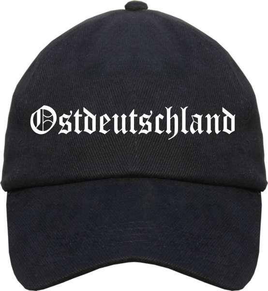 Ostdeutschland Cappy - Altdeutsch bedruckt - Schirmmütze Cap