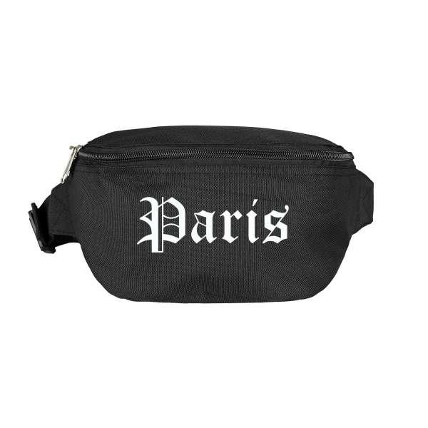 Paris Bauchtasche - Altdeutsch bedruckt - Gürteltasche Hipbag