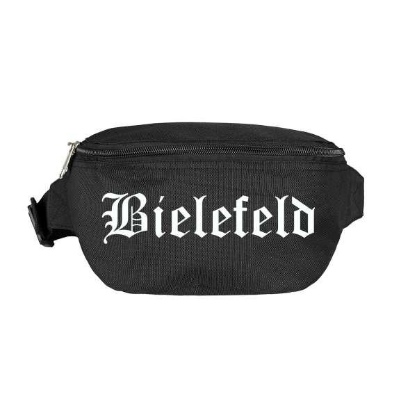 Bielefeld Bauchtasche - Altdeutsch bedruckt - Gürteltasche Hipbag