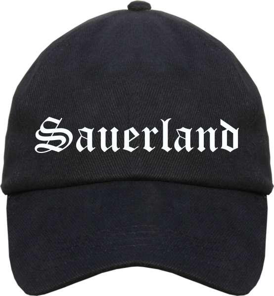 Sauerland Cappy - Altdeutsch bedruckt - Schirmmütze Cap