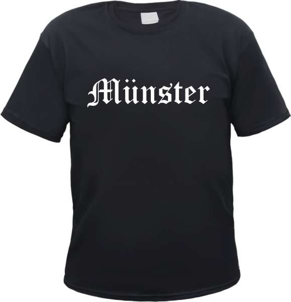 Münster Herren T-Shirt - Altdeutsch - Tee Shirt