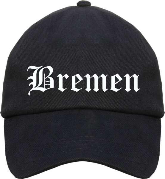 Bremen Cappy - Altdeutsch bedruckt - Schirmmütze Cap