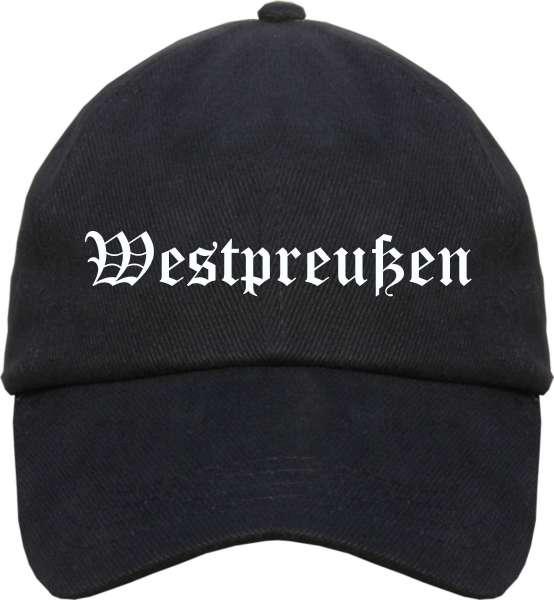 Westpreußen Cappy - Altdeutsch bedruckt - Schirmmütze Cap