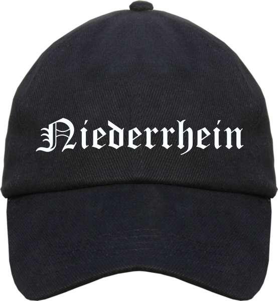 Niederrhein Cappy - Altdeutsch bedruckt - Schirmmütze Cap