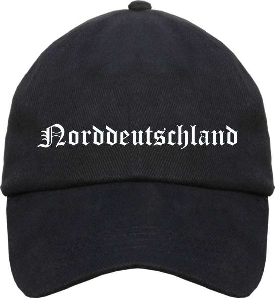 Norddeutschland Cappy - Altdeutsch bedruckt - Schirmmütze Cap