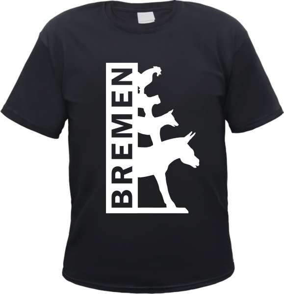Bremen - T-Shirt Die Bremer Stadtmusikanten