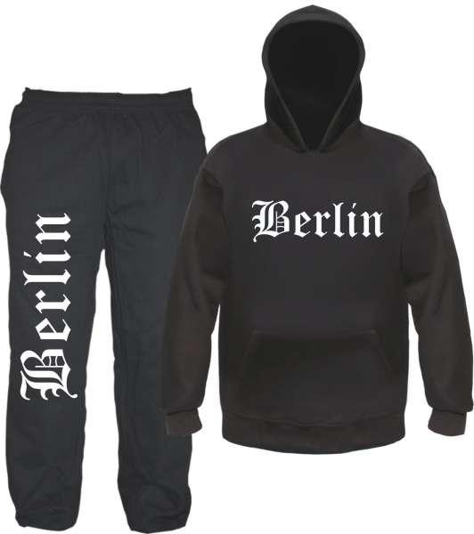 Berlin Jogginganzug - Altdeutsch - Jogginghose und Hoodie