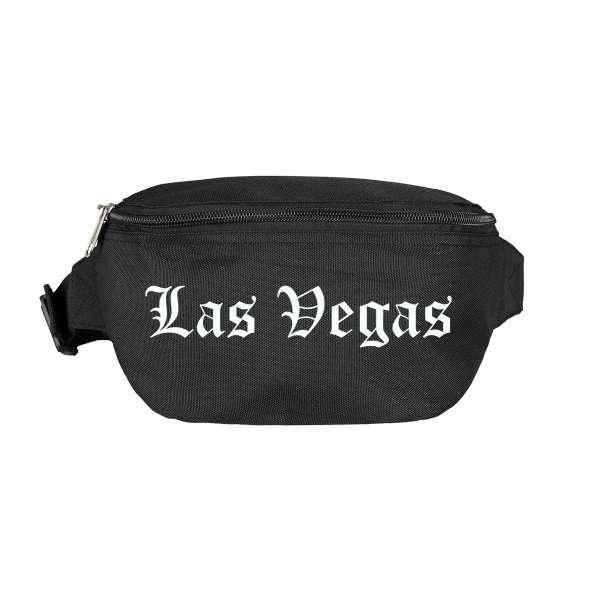 Las Vegas Bauchtasche - Altdeutsch bedruckt - Gürteltasche Hipbag