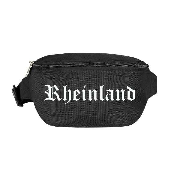 Rheinland Bauchtasche - Altdeutsch bedruckt - Gürteltasche Hipbag